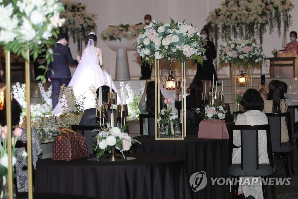 调查:韩国待婚男女对结婚看法存差异