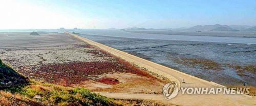 朝鲜填海造地