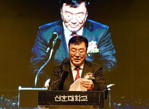 中国大使在信韩大学演讲
