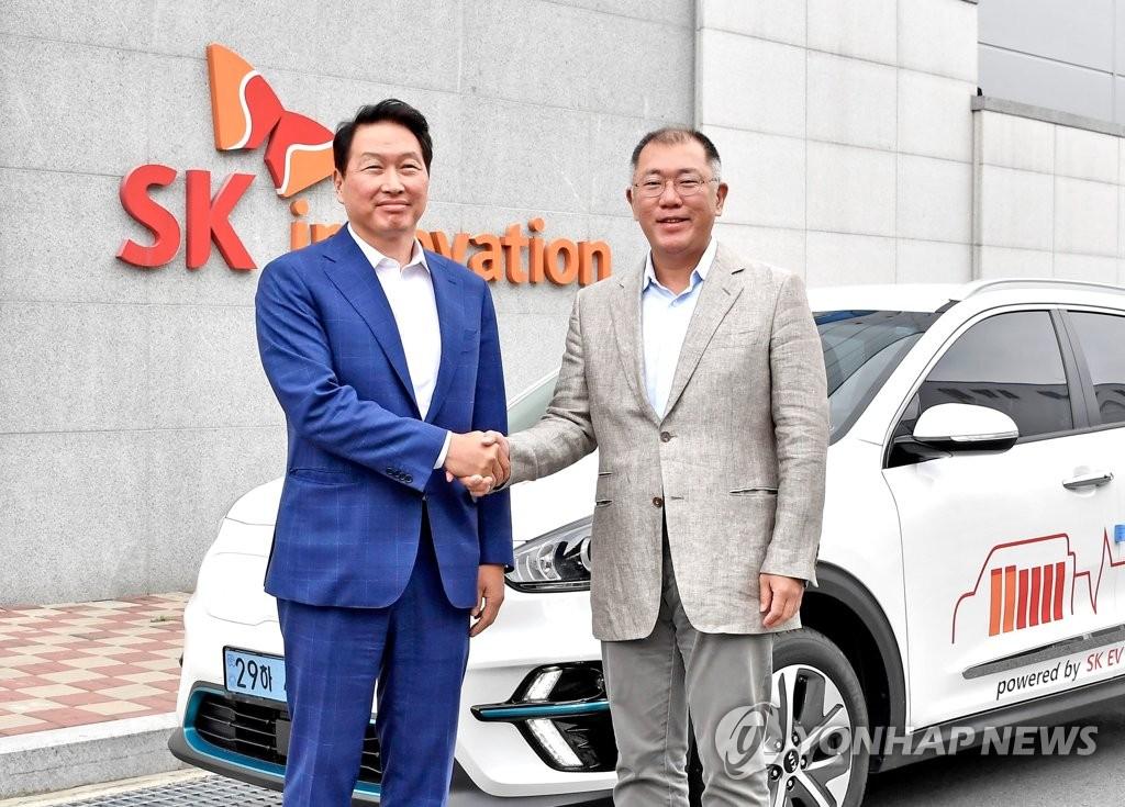 现代汽车SK创新开展动力电池全周期合作