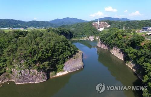 汉滩江获评世界地质公园