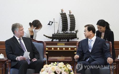 详讯:韩国国安首长徐薰会见美国副国务卿比根