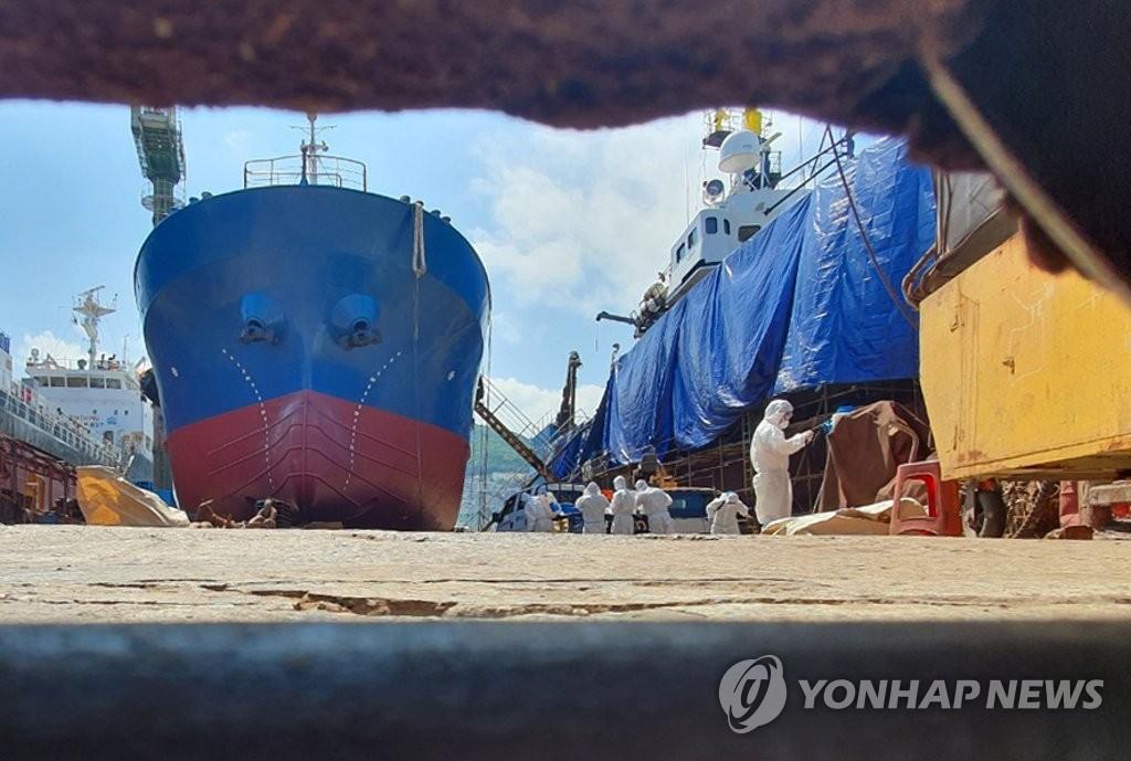 港口消毒严防疫情输入