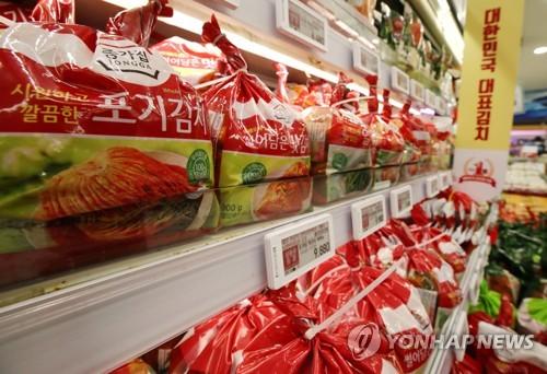 今年前三季韩国泡菜出口创新高