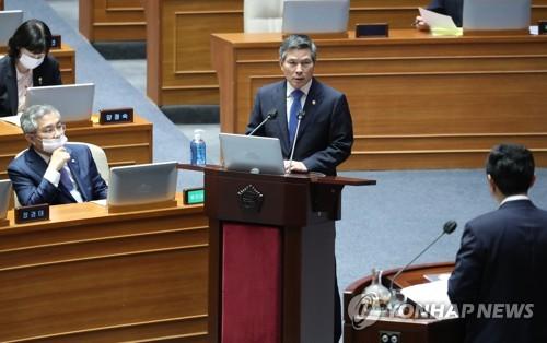 韩防长:韩朝九一九军事协议战时将失效