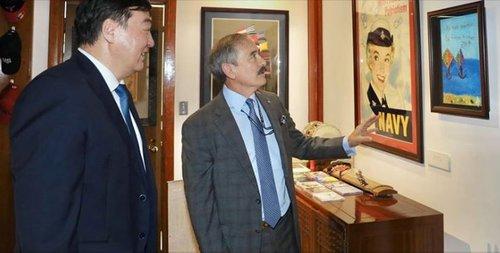 中美驻韩大使会面