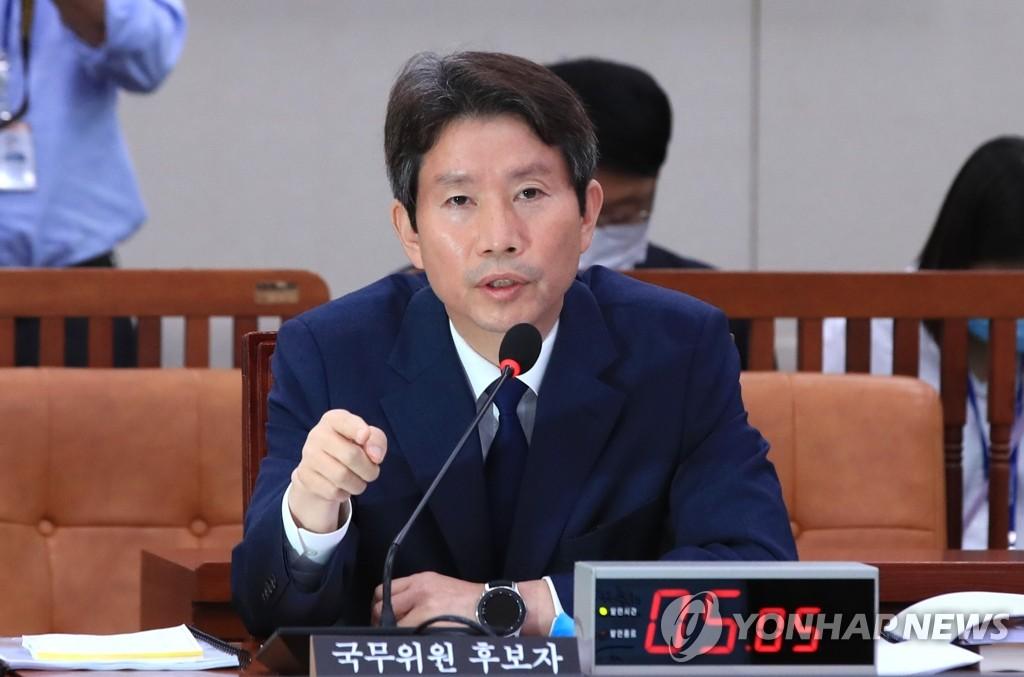 详讯:韩候任统一部长官李仁荣出席国会听证会