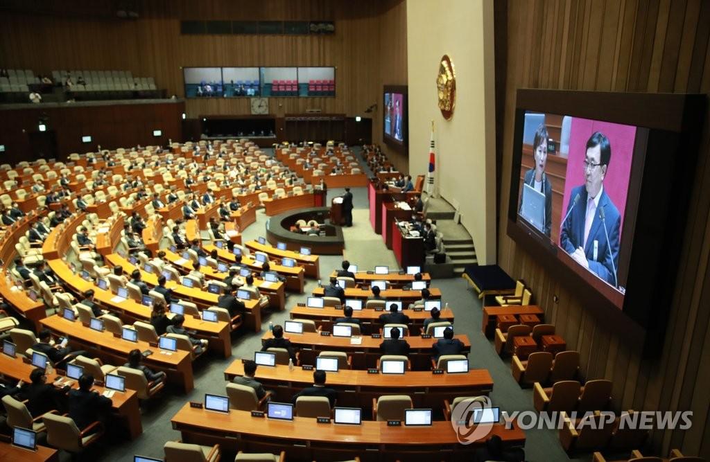 韩国国会质询政府教育和社会工作会议今将举行