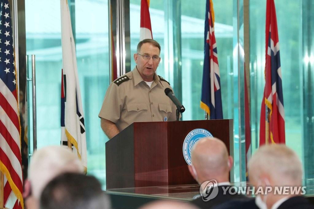 联合国军司令:韩朝关系不稳定 停战协定须遵守