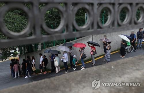 中国今起受理韩国必要人员签证申请