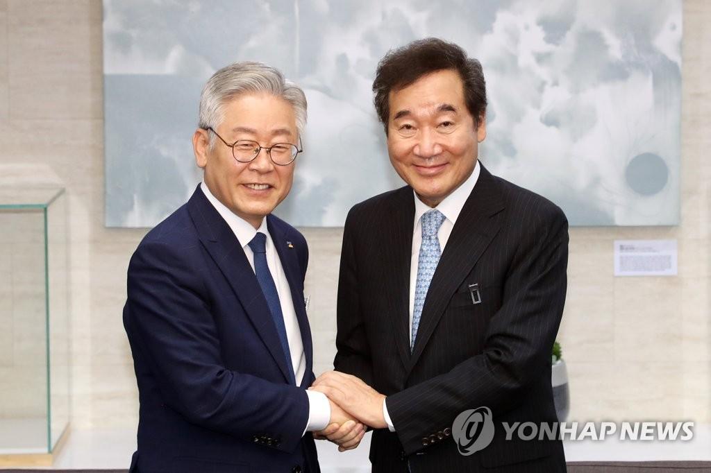 民调:韩国大选两大热门人选民望首逆转
