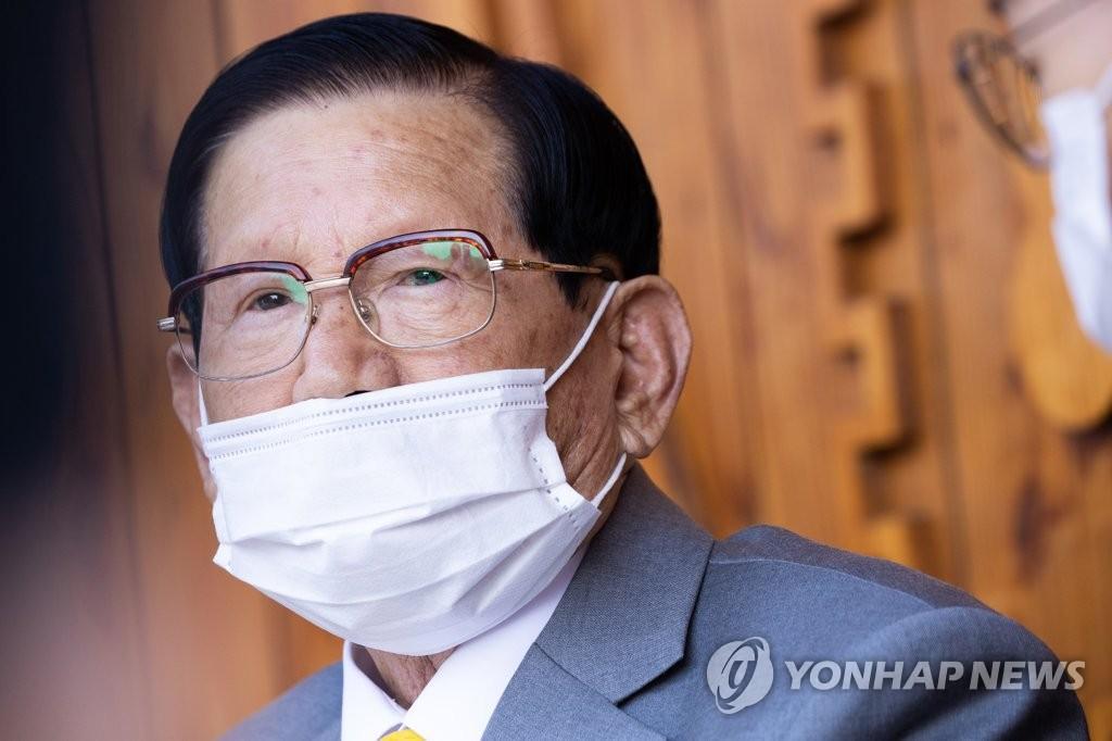 韩涉妨碍防疫新天地教主因病获准保释