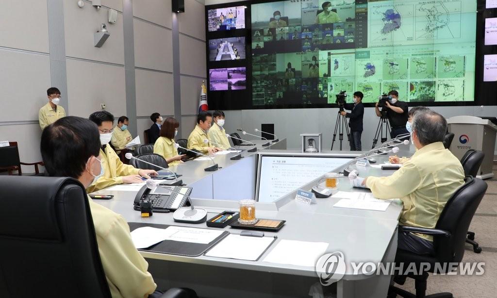 韩召开全国防汛检查会议