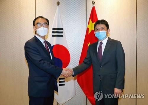 韩中经贸联委会在华举行