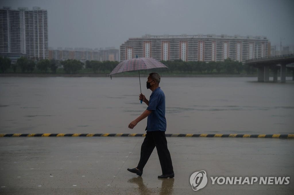 朝鲜主要河流发布洪水预警