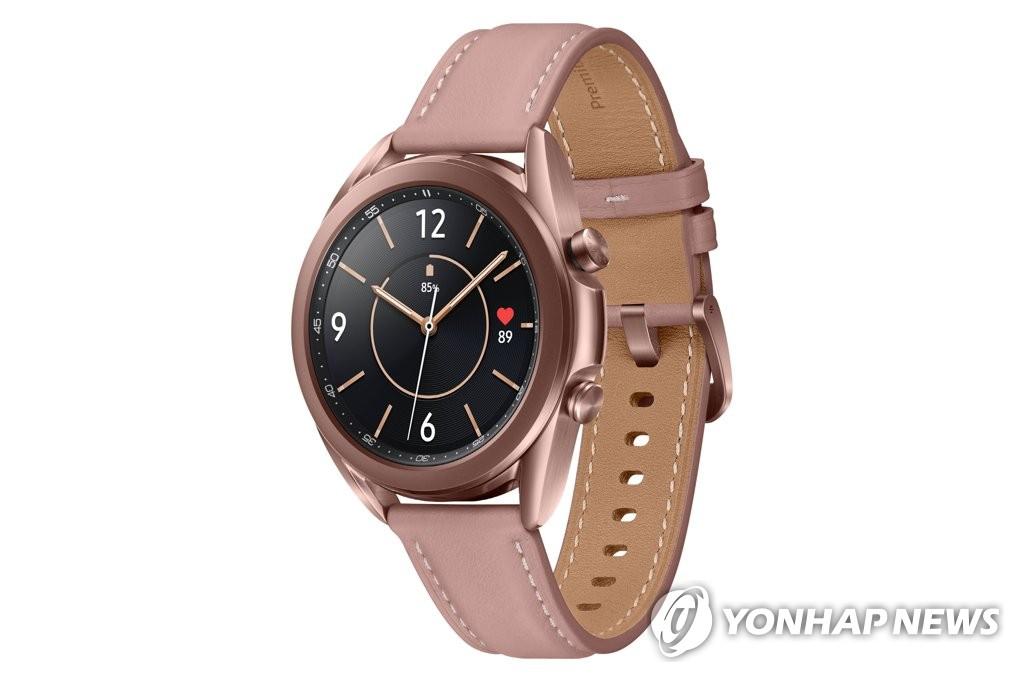 三星新款智能手表Galaxy Watch3