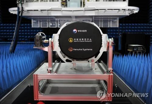 韩自主研发机载有源相控阵雷达原型机