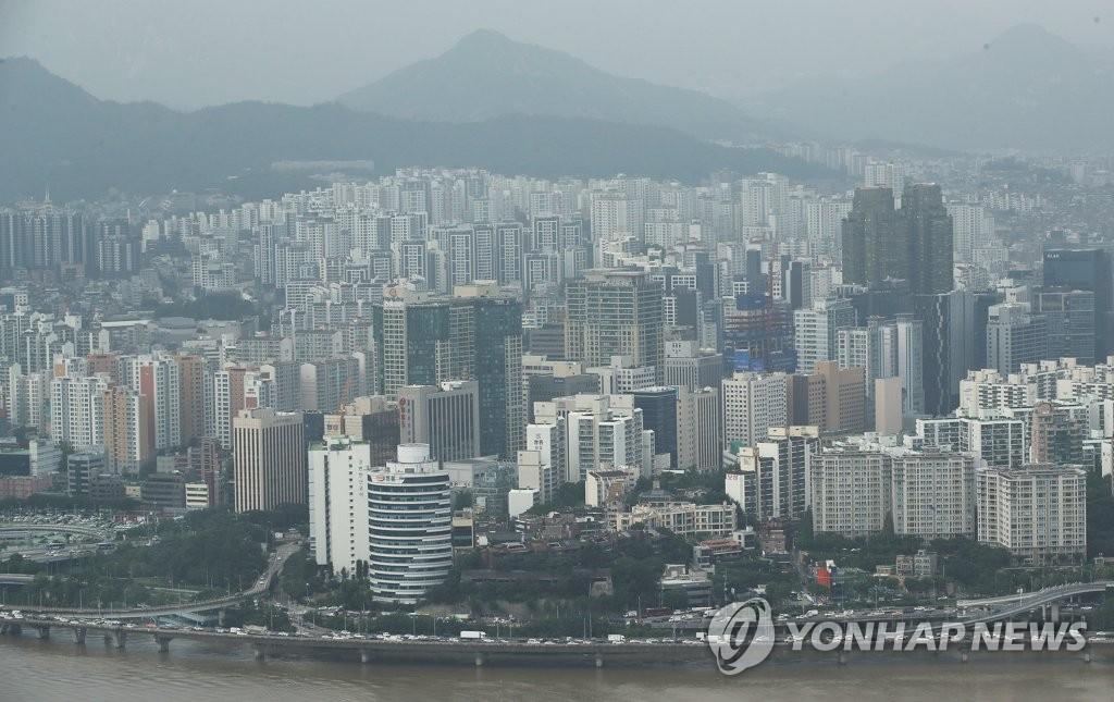 资料图片:首尔麻浦区一带 韩联社