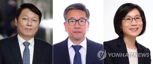 文在寅内定青瓦台三名新任首秘人选