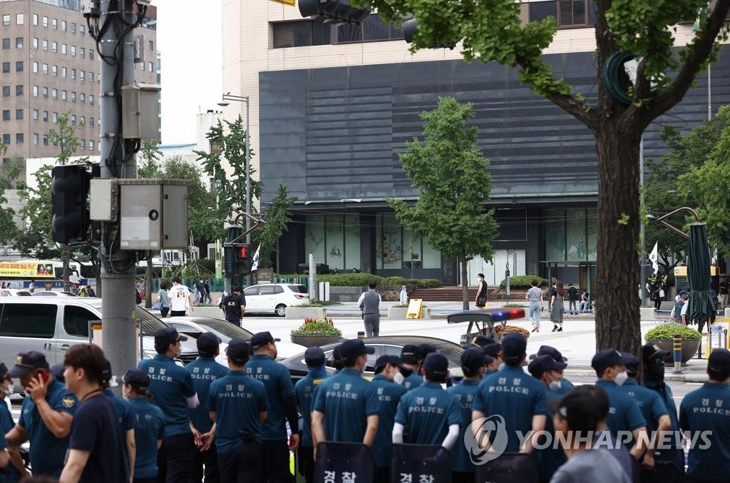 首尔市下令禁止公民团体15日光复节集会