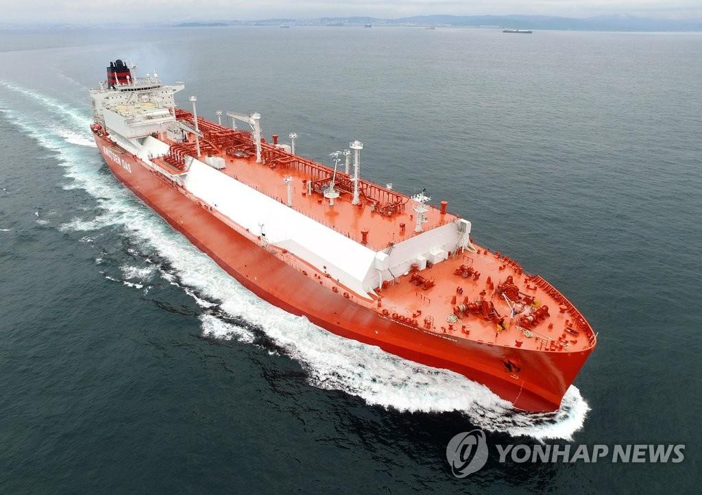 韩造船厂订单量连续两月稳居全球首位
