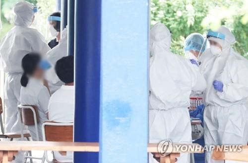 简讯:韩国新增103例新冠确诊病例 累计14873例