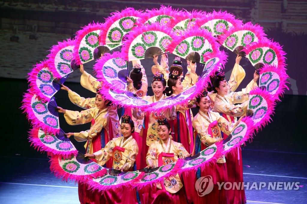 韩国传统舞蹈