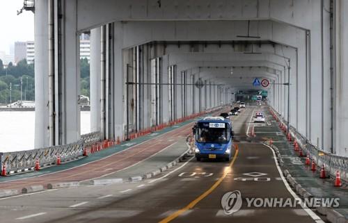 汉江潜水桥恢复通行