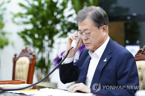韩澳领导人通电话讨论抗疫合作