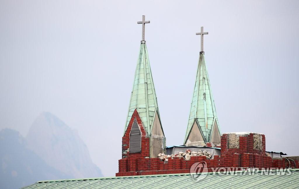 韩爱第一教会两名确诊教徒擅离隔离点