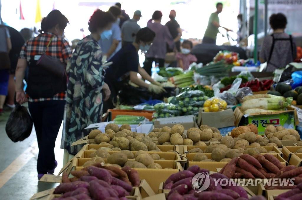 详讯:韩国8月CPI同比上涨0.7%