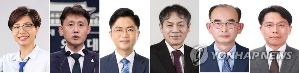韩总统幕僚换6人 改组完成