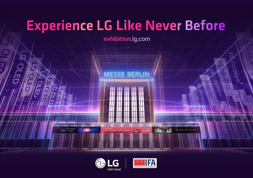 LG电子参加德国IFA电子展勾画新常态生活愿景