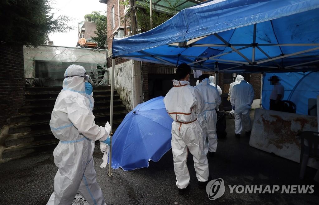 韩警方搜查妨碍防疫牧师全光焄住处