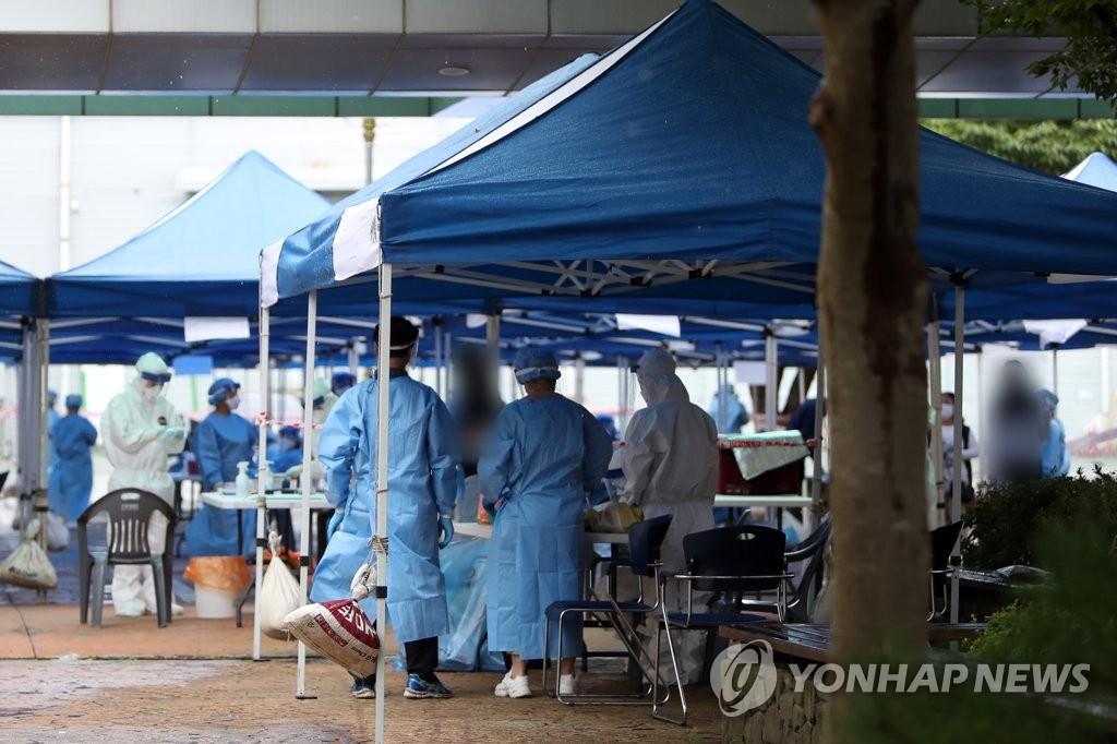 简讯:韩国新增136例新冠确诊病例 累计21432例