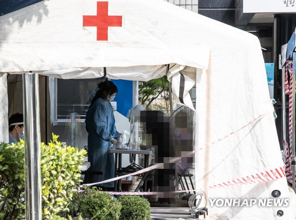 简讯:韩国新增106例新冠确诊病例 累计22391例