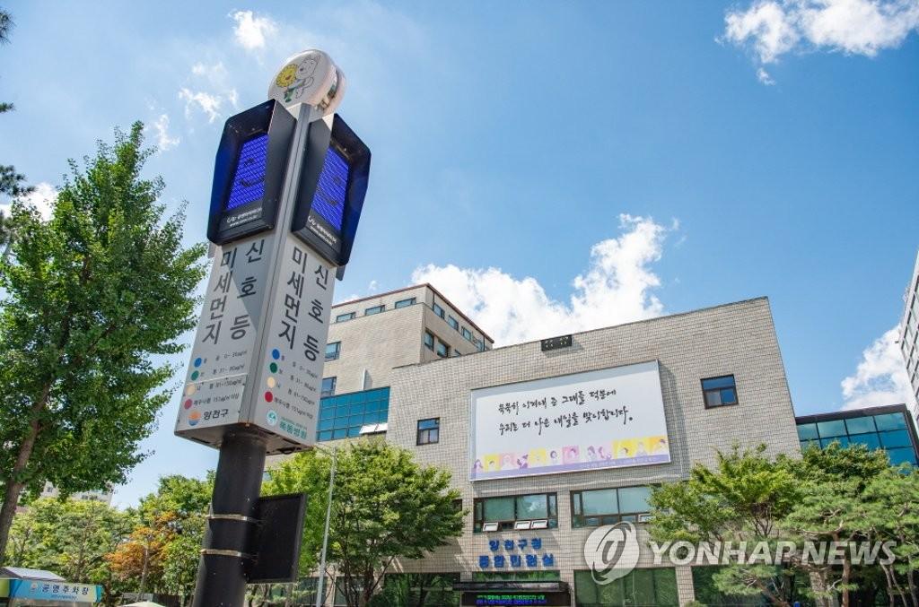 报告:韩国今年PM2.5浓度大降 气象是主因
