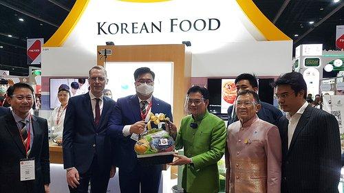 泰国食品博览会韩国馆