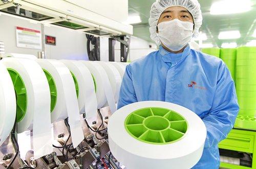 SK创新常州锂电池隔膜厂正式投产