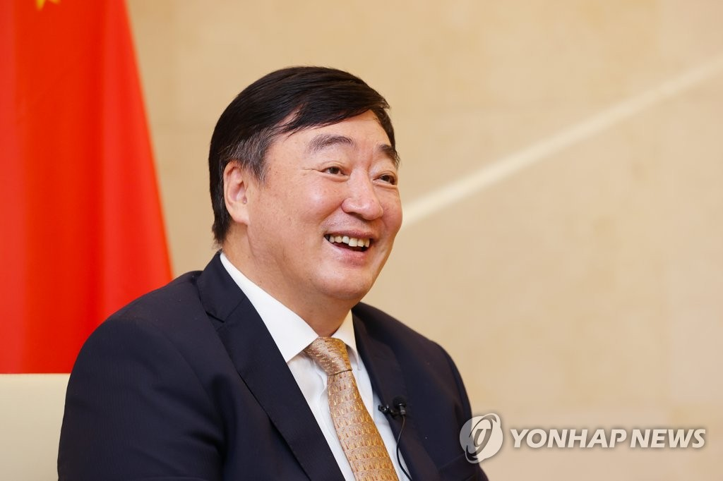 中国驻韩大使邢海明