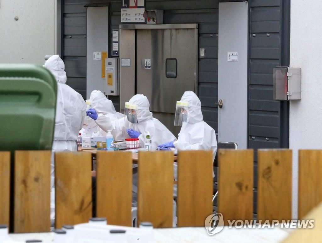 简讯:韩国新增114例新冠确诊病例 累计23455例