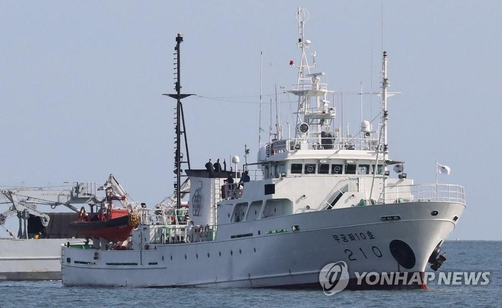 韩海警:不排除遇害公务员投奔朝鲜可能性