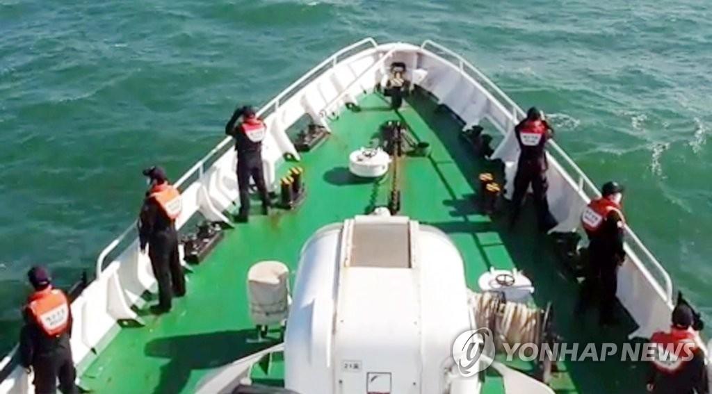 韩被朝射杀公务员遗体搜寻工作仍在继续