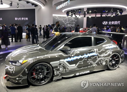 现代电动汽车RM20e全球首发