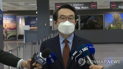 韩对朝代表李度勋访美