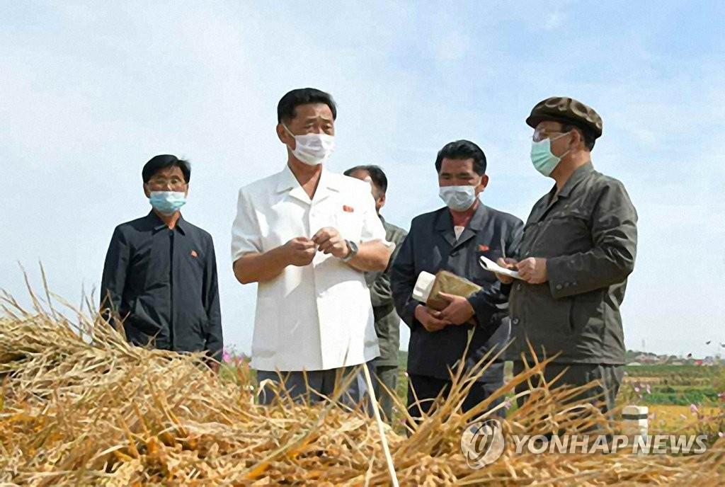 朝鲜总理视察农村