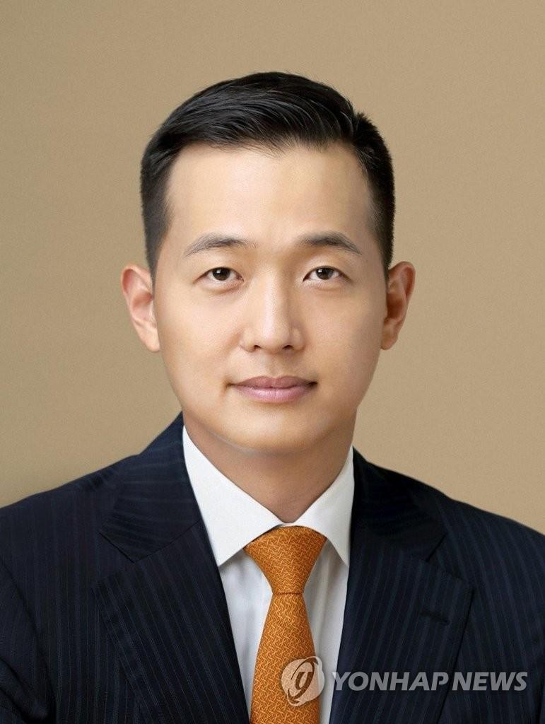金东官升任韩华解决方案社长。 韩联社/韩华传播委员会供图(图片严禁转载复制)