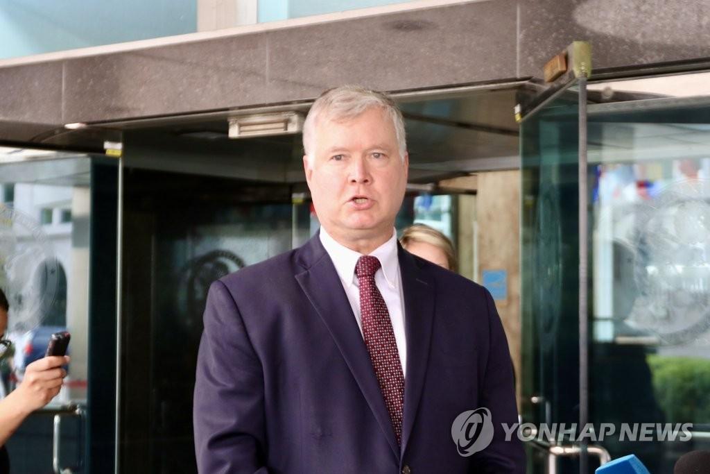 美国副国务卿比根明起访韩