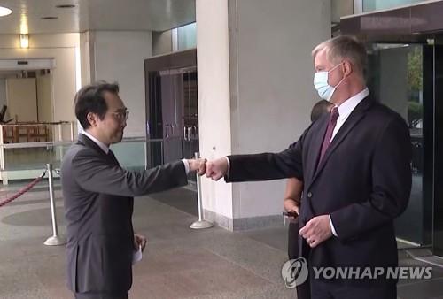 韩美对朝代表会晤