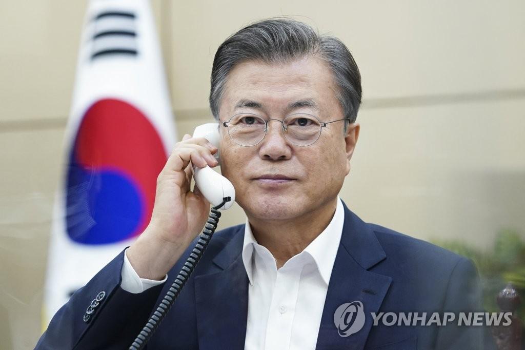 韩乌兹别克元首通电话共商深化关系方案